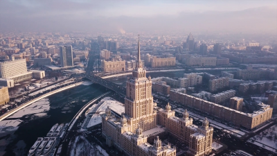 Frozen Moscow