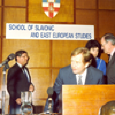 22 March 1990: Visit of Václav Havel to SSEES…