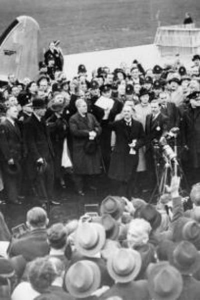 Announcement of the Munich Agreement…