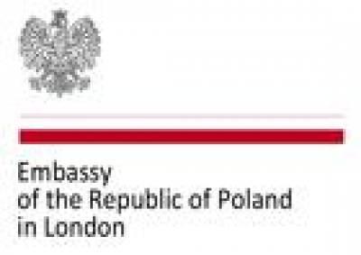 Polish Embassy in London Logo…