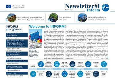 Newsletter one