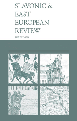 Slavonic and East European Review (SEER)