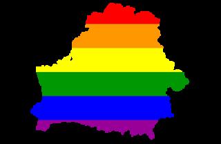 LGBT map of Belarus