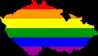 LGBT map of the Czech Republic