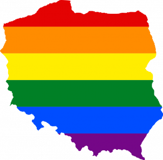 LGBTQ map of Poland