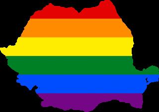 LGBTQ map of Romania