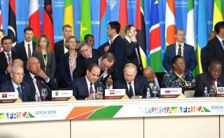 Putin at Russia Africa Summit