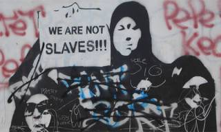 We are not slaves, image