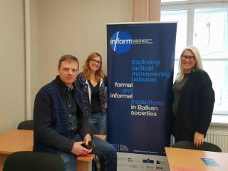 NFORM RESEARCHERS PARTICIPATED IN THE EUROPEAN RESEARCHERS' NIGHT