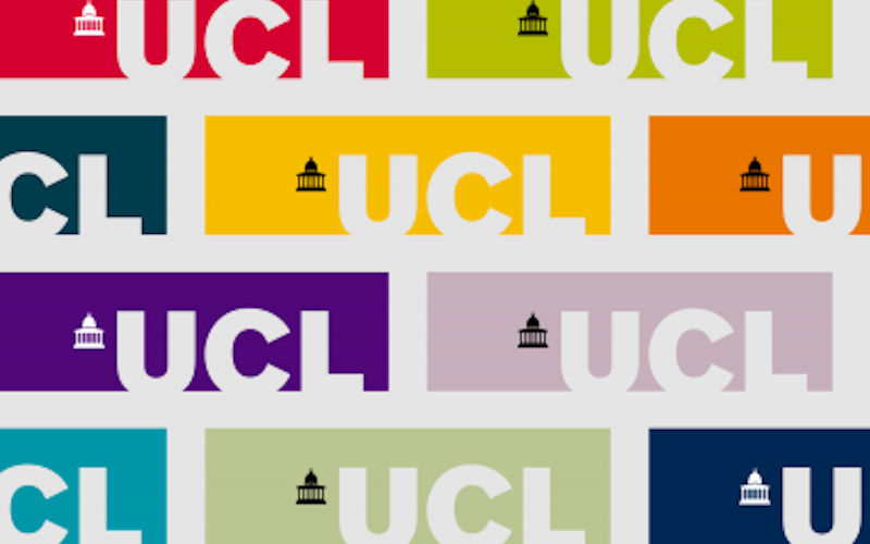 UCL logo in multicolour