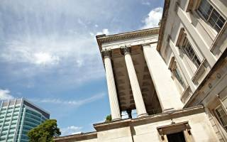The UCL Portico and UCLH