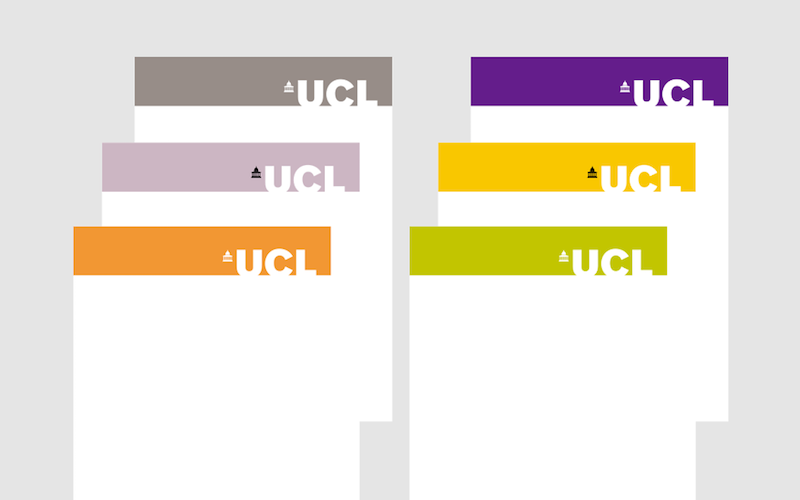 UCL letterheads
