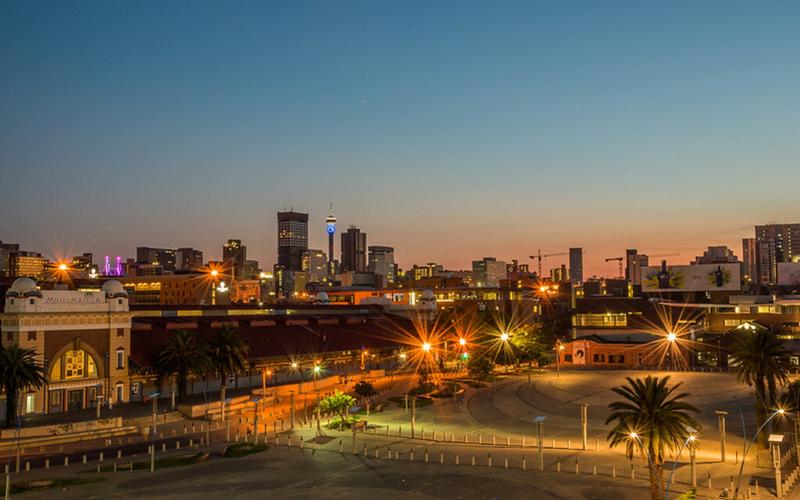Hillbrow At Sunrise, Johannesburg by Paul Saad