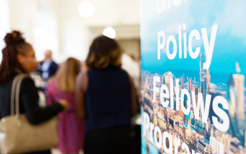 Global Policy Fellowships summer reception