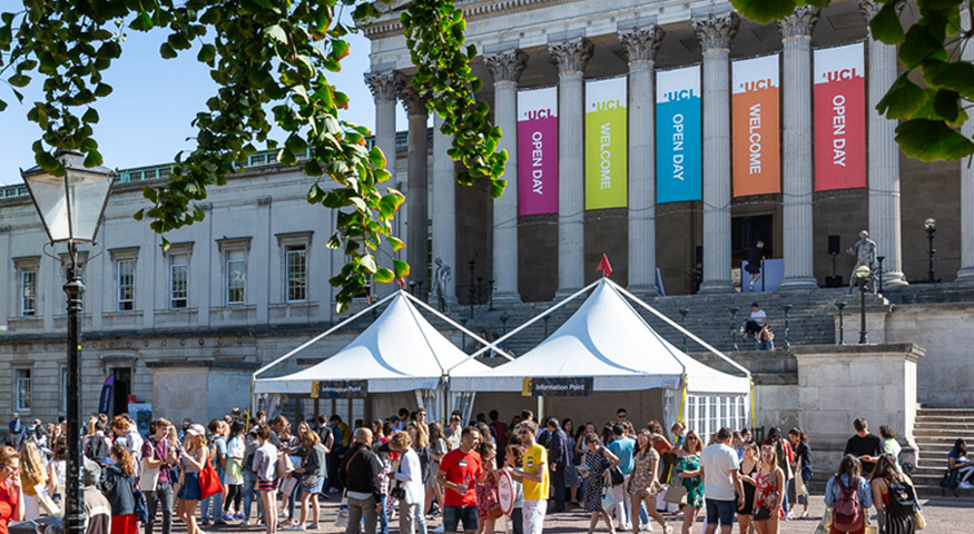 Open Day UCL Portico