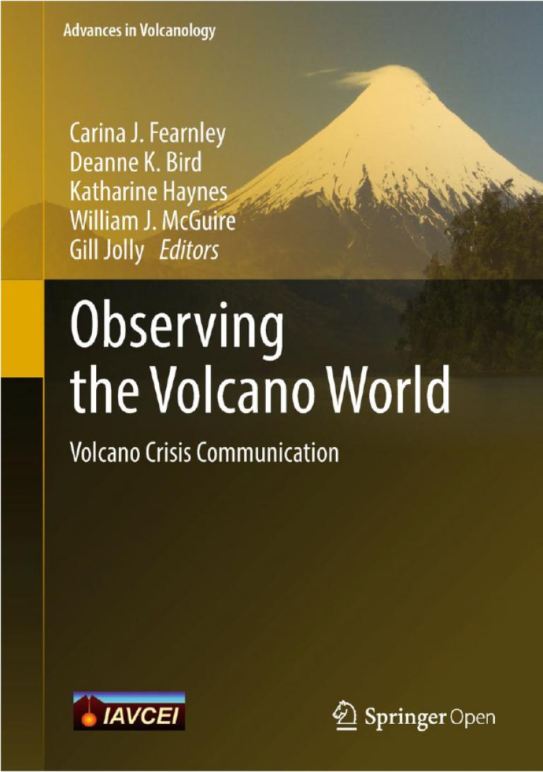 Observing the Volcano World - Springer 2018