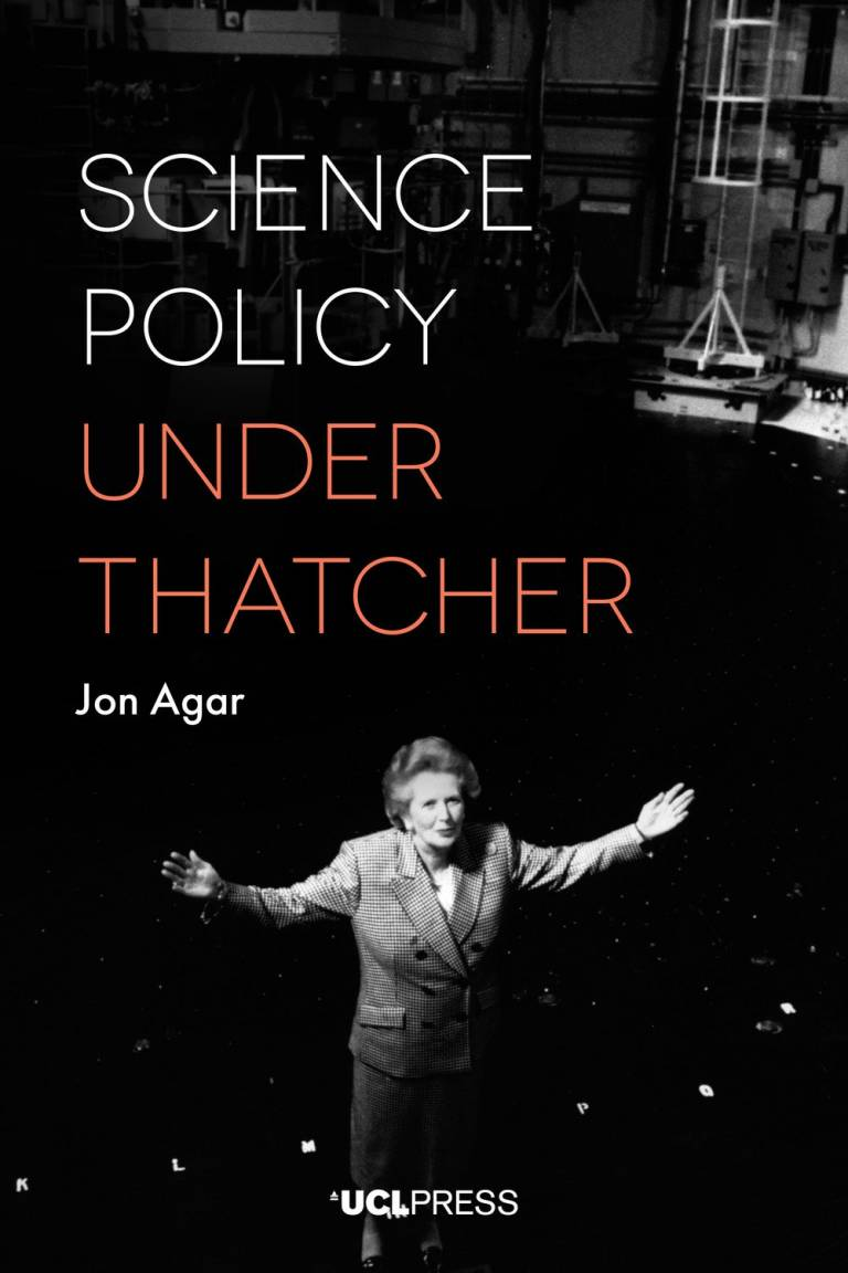 Science Policy Under Thatcher - Cover image