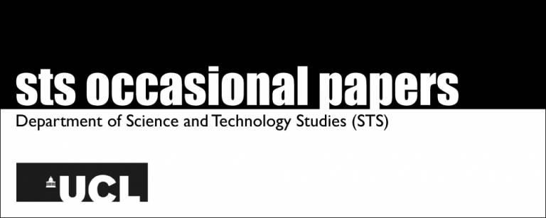 STS Occasional Papers logo