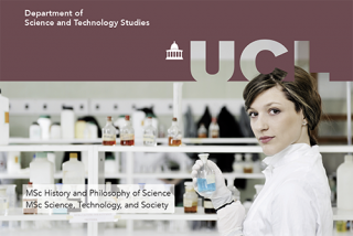2019-20 MSc programmes offered by UCL Department of Science and Technology Studies (STS)