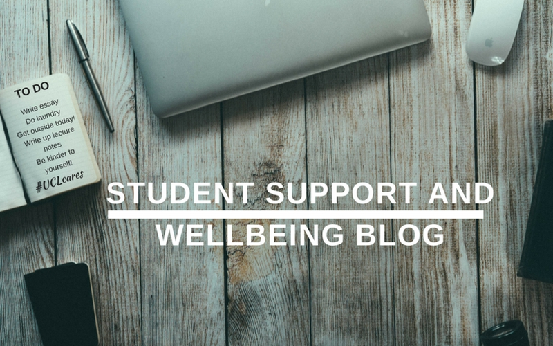Student Support and Wellbeing blog