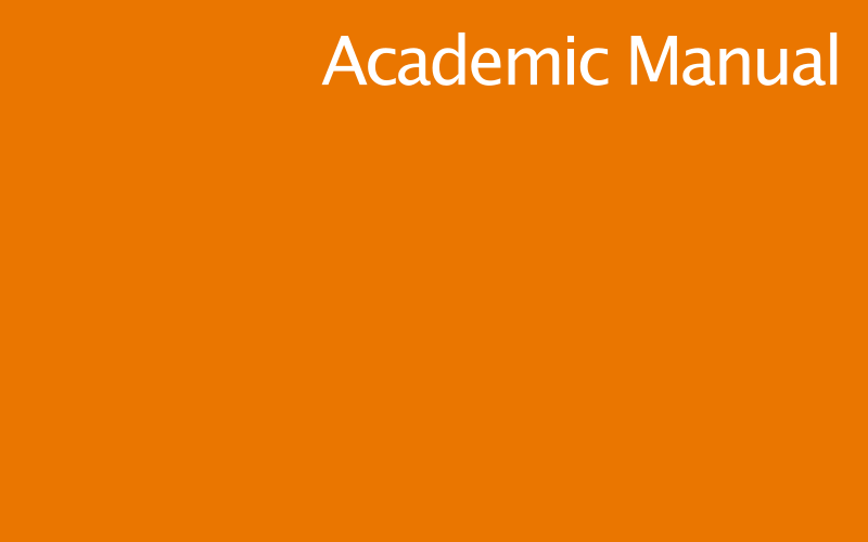 Link to UCL's Academic Manual