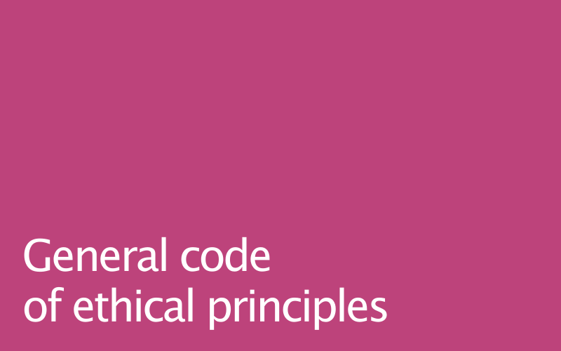 Link to ethical principles guide