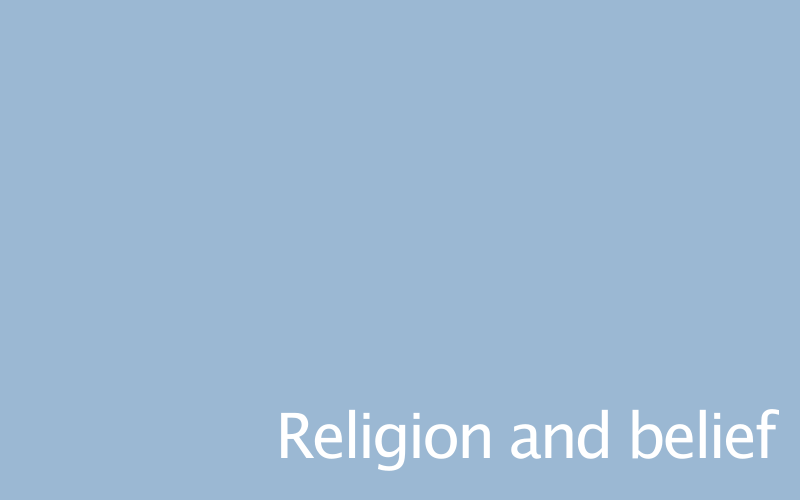 Link to religion and belief policy