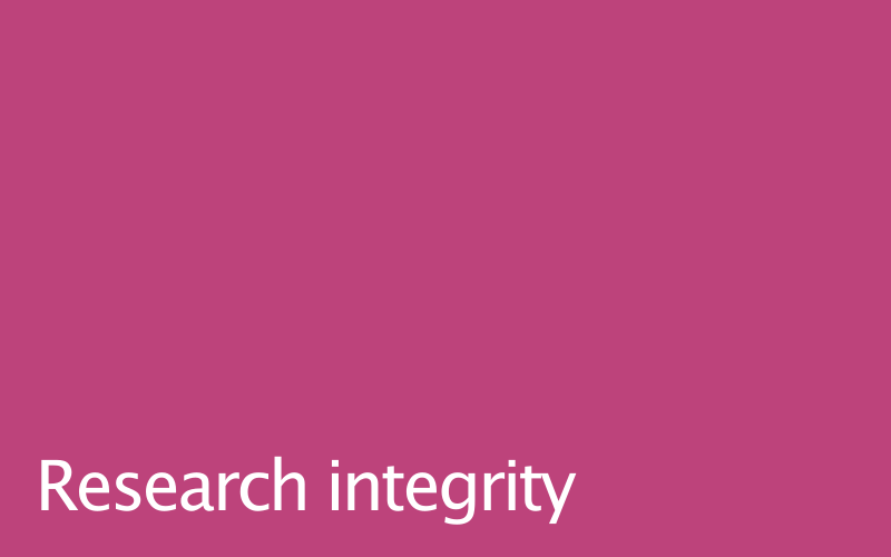 Link to research integrity