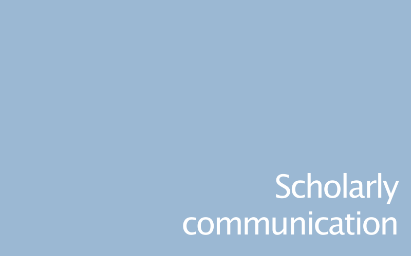 Link to scholarly communication