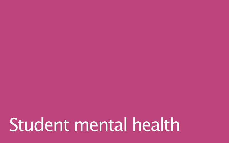Link to student mental health policy