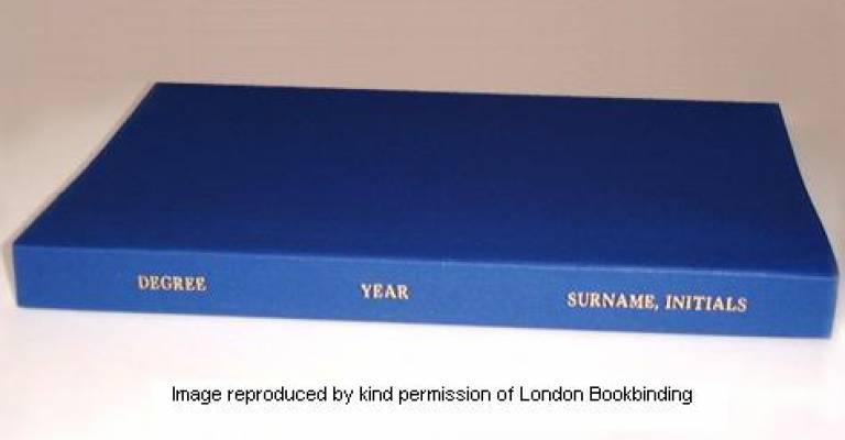 thesis binding london ulu