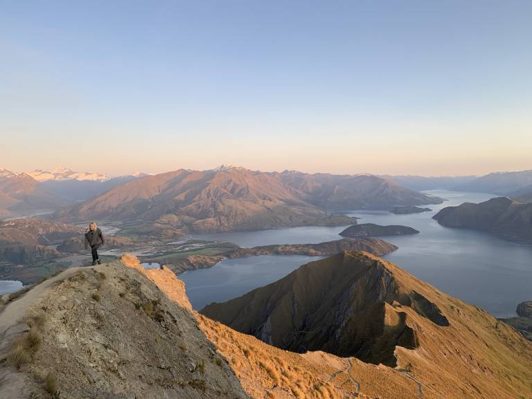 Mountains and fjords of New Zealand