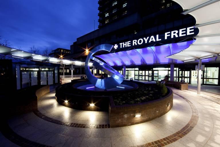 Royal Free Entrance