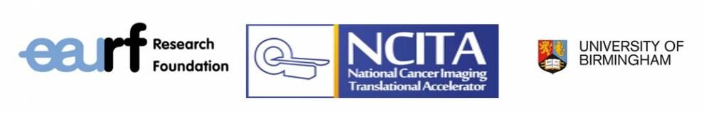 EAURF Foundation, NCITA, and Birmingham univeristy logos