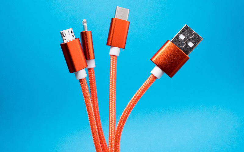 Photograph of cables