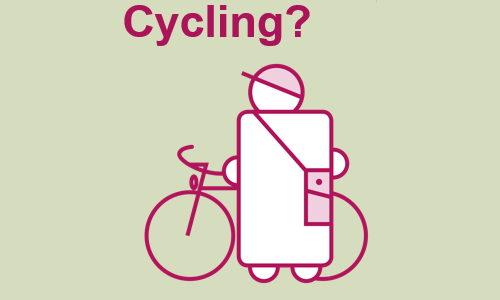 Snapshot of cycling poster