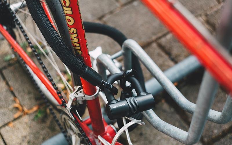 Photograph of bike lock