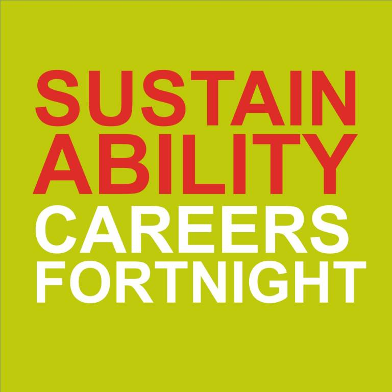Sustainability Careers Fortnight