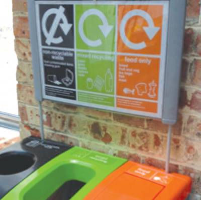 Cross-disciplinary collaboration to increase recycling