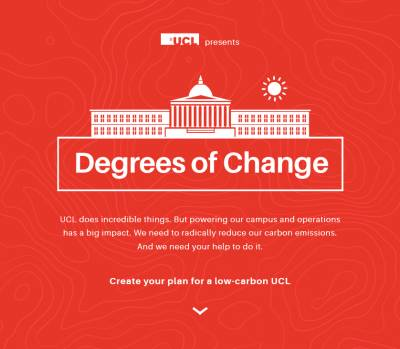Degrees of Change interactive tool