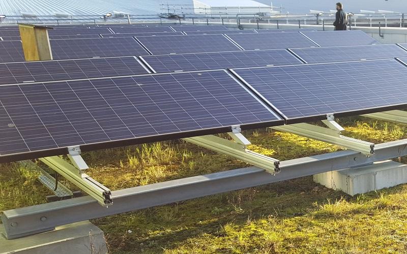 UCL East Solar Pannels