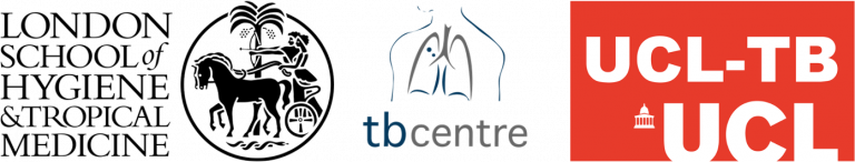 LSHTM-TB Centre and UCL-TB logos