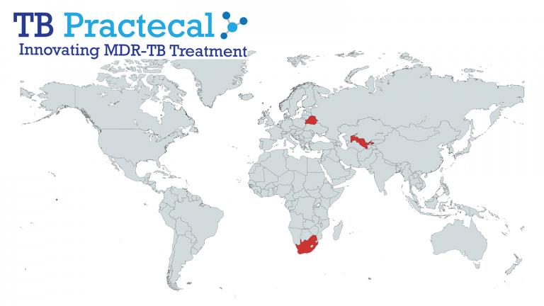 TB_PRACTECAL world map