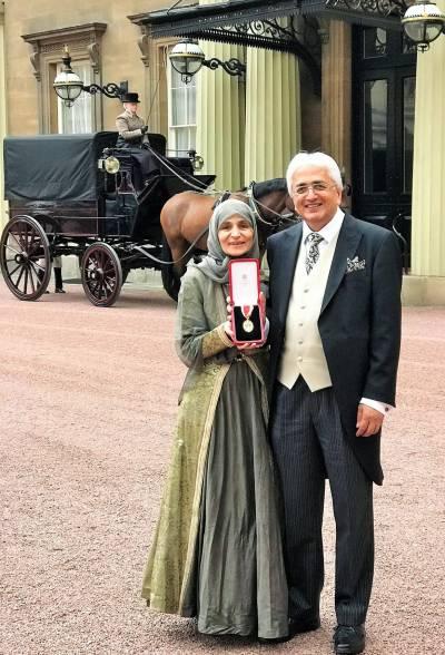 Sir Ali and Lady Farzana