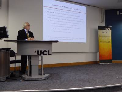 Dr Gerald Friedland at UCL