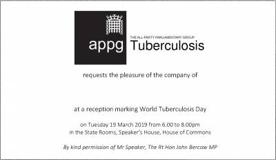 Invitation to the APPG event