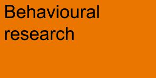 Behavioural research