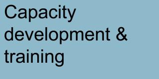 Capcity development & training