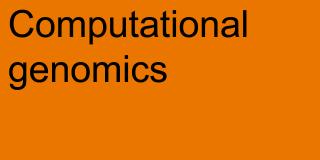 Computational Genomics