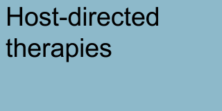 Host-directed therapies